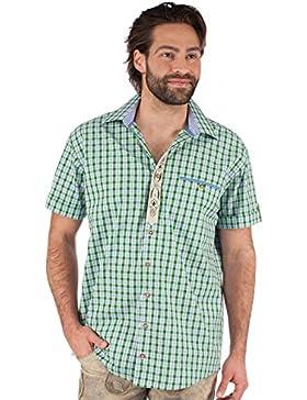 Orbis Trachtenhemd 921004-0749 Halbarm grün