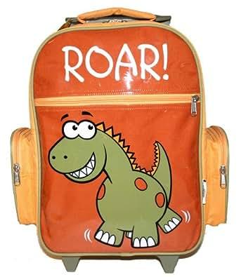 Bugzz - Grand Sac à dos Trolley pour enfant Thème Dinosaure