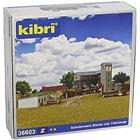 Kibri - Edificio industrial de modelismo ferroviario Z escala 1:87 (36603)