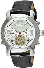 Comprar Aatos PrinosLSW - Reloj de caballero automático, correa de piel color negro, caja de acero inoxidable
