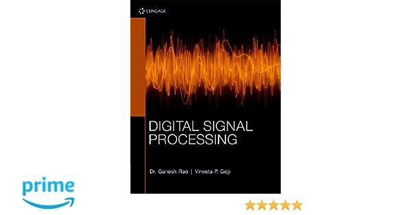 Digital Signal Processing Ganesh Rao Pdf