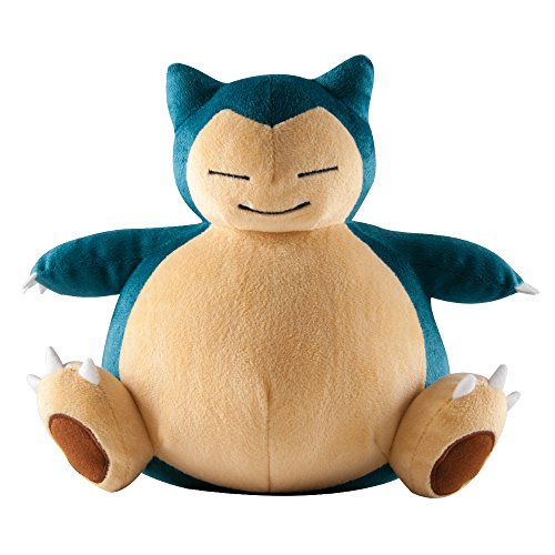 "Pokemon T18763D1SNORLAX ""Snorlax"" Plush Toy, Large, 10-Inch"