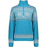 CMP WOMAN KNITTED PULLOVER WP Größe 38 CURACAO