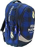 Exclusiv Real Madrid Schulranzen Schulrucksack Tasche 43x31x17cm Edel 2018