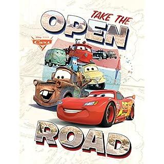 AG Design Disney Cars, Papier Fototapete, 90x120 cm-1 Teil, Multicolor, 0,1 x 90 x 120 cm
