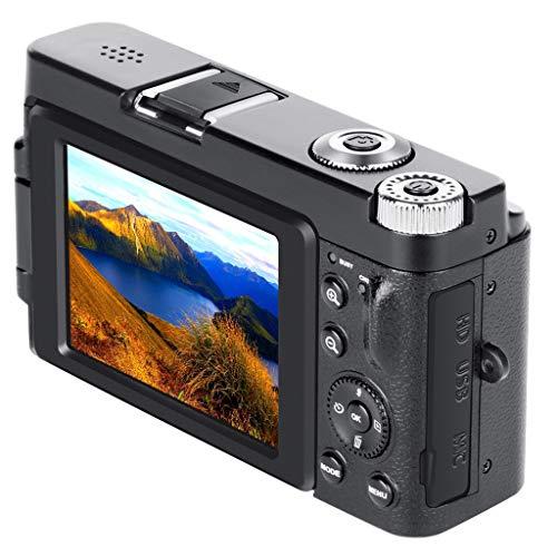 DAKERTA Action Kamera WiFi Sports cam 24MP Ultra Full HD WiFi Kamera 3,0 Zoll 180 Grad, 16 facher Digitalzoom Action Cam mit Batterien Transporttasche und kostenlose Accessoires