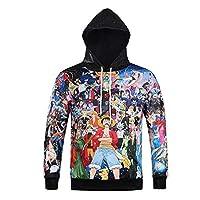 Hip Hop 3D Printed Hoodies Hoody Sweatshirt Anime One Piece Cartoon Tops Pullover Sudaderas Hombre for Unisex Hooded