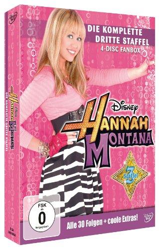 Bild von Hannah Montana - Die komplette dritte Staffel [4 DVDs]