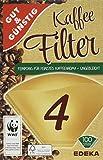 G&G 2129557007 Kaffeefilter, Größe 4, 100 Stück