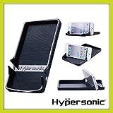 Hypersonic® HP2745 Universelle Smartphone Halterung , Tablet Halterung , Antirutschmatte fürs Auto oder Schreibtisch , flexibel , rutschfest , auch für andere Gegenstände geeignet , Smartphone Holder