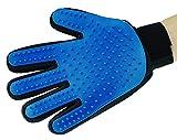 Silikon Pet deShedding Handschuh für Sanfte und effiziente Fellpflege. Pet Massage Handschuhe Haut, entfernen Sanft Das Haar (Rechte Hand)