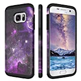 DUEDUE Coque Galaxy S7, Coque Samsung S7, Coque téléphone Galaxy S7 Double Couche...