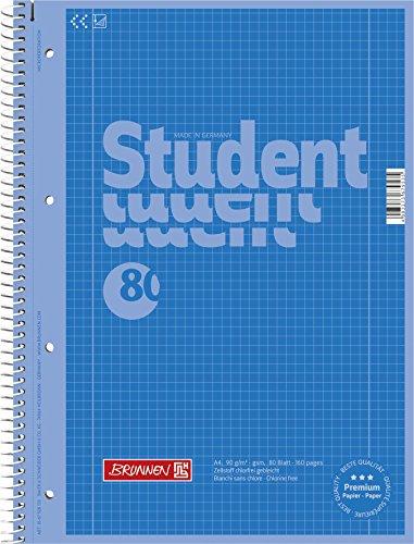 Brunnen Color Code 90 g viola 80 fogli formato A4 Quaderno spiralato