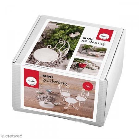 Mini-sand-stuhl (RAYHER Mini-Gardening 9-teiliges Set-