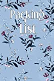 Packing List: Packing List Checklist Manifesto Trip Planner Vacation Planning Adviser Itinerary Travel Diary Planner Organizer Budget Notes size 6*9 inches 95 Pages (Vintage pattern 1): Volume 2