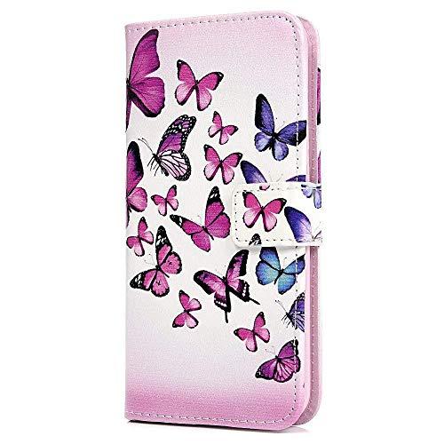 Vagenno Huawei Honneur 9 Lite Coque Papillon