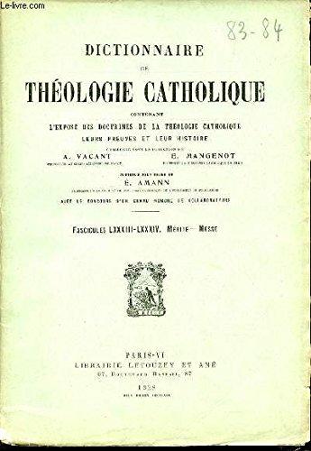 2-fascicules-fascicule-lxxxi-massarelli-fascicule-lxxxii-merite-dictionnaire-de-theologie-catholique-contenant-l-39-expose-des-doctrines-de-la-theologie-catholique-leurs-preuves-et-leur-histoire