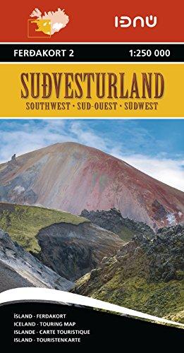ISLANDE SUD-OUEST 2  1/250.000