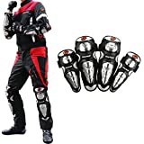 COFIT Moto Racing Protezione della Gomiti e Ginocchia per Sport All'Aperto, Moto, Motocross Ciclismo, Bicicletta