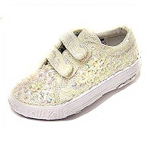 Lelli Kelly - Zapatos para niños, Color Blanco, Talla 24