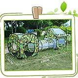 F&zbhzy Zelt Outdoor Tunnel Zelt 230x70x85cm Wasserdicht Zwei Zimmer Tunnel Zelte Sommer Strand...