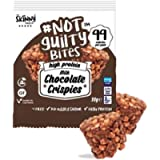 The Skinny Food Co Protein Crispies Snacks - Milk Chocolate   Guilty Free Bites   High in Protein - Low Calorie - Low…