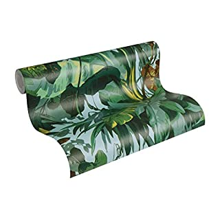 A.S. Creation 95898-1 Jungle Wallpaper, Roll Size: 10.05m x 0.53m