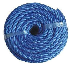 Seil 4mm x 20m blau