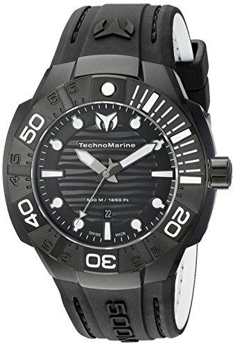 technomarine-herren-tm-513003-schwarz-reef-analog-display-swiss-quartz-black-watch
