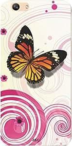 J & C Cases' Designer Printed Cover For Vivo V5
