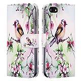 NWNK13 iPhone se/5Se/5/5G/5S Motif miroir compact/Portefeuille/porte-cartes,...