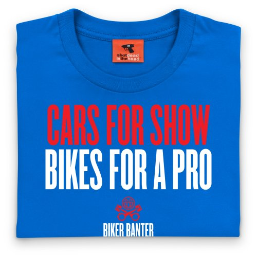 PistonHeads Cars For Show T-Shirt, Herren Royalblau