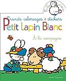Telecharger Livres Coloriages et Stickers Petit Lapin Blanc a la campagne (PDF,EPUB,MOBI) gratuits en Francaise