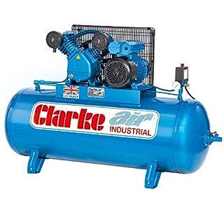Latest Model Clarke Industrial Air Compressor XEV16 200 litre tank 3HP 14 CFM 2092274230 volt