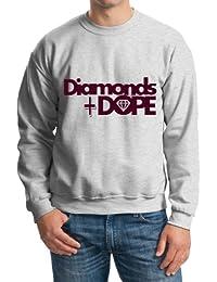 Retro Elegante de diamantes y Dope '–Jersey para hombre