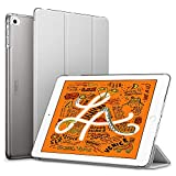 ESR Coque pour iPad Mini 2019, Smart Cover Case Housse Étui de Protection avec Support Multi-Angle, Fermeture Magnétique pour iPad Mini 5 7.9 Pouces (Série Colorée, Gris)