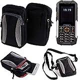 K-S-Trade Belt bag, holster/shoulder bag for Cyrus CM 16,