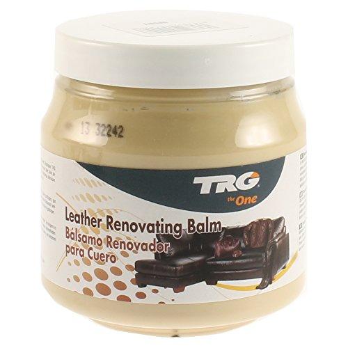 TRG Leder Renovieren Balsam - Passend für Leder Möbel, Jacken und taschen 300ml (Verschiedene Farben Erhältlich) - Creme, (Badewanne Elfenbein)