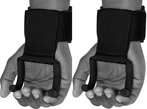 RDX Zughilfen Haken Bodybuilding Handgelenkbandage Krafttraining Zughilfe Fitness Gewichtheben Klimmzughaken Straps