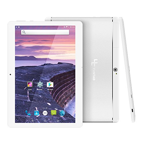 Yuntab 10.1 pulgadas 3G Wifi Tablet PC Aleación Metal atrás Quad-Core Android...