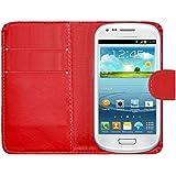 Samrick Etui pour Samsung Galaxy S3 Mini Rouge