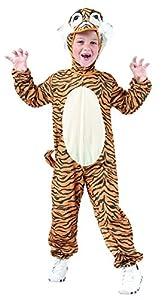 Reír Y Confeti - Fibani018 - Disfraces para Niños - Pequeño Tigre Traje - Talla M