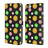 Head Case Designs Offizielle PLdesign Sommer Fruechten Druck Nahrung Brieftasche Handyhülle aus Leder für iPhone 6 Plus/iPhone 6s Plus