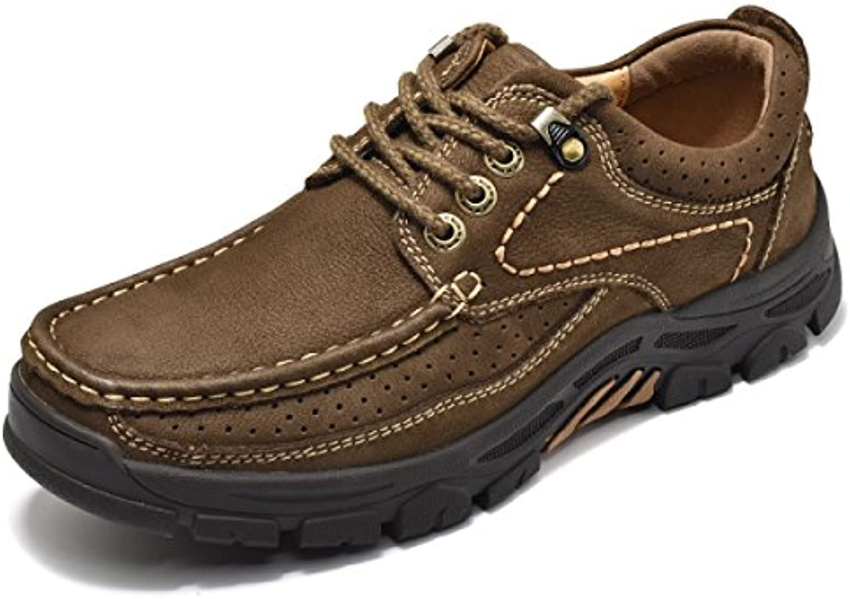 Outdoor Schuhe Sport Rutschfeste Camouflage Naht Wasserdichte Collision Toe Leichte Dicke Gummisohle Brown b 38