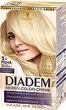 Schwarzkopf Diadem Seiden-Color-Creme, 792 Extra helles Platinblond Stufe 3, 3er Pack (3 x 180 ml)