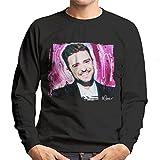 Photo de Sidney Maurer Original Portrait Of Justin Timberlake Smile Men's Sweatshirt par Sidney Maurer