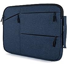 y de Master Laptop funda Sleeve case para Lenovo Dell Acer Asus MacBook Toshiba y otros ordenadores portátiles Ultral Books para hombre y mujer, azul marino, 15,6 Zoll