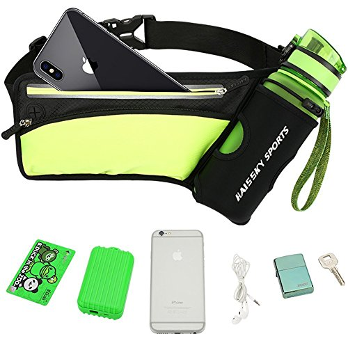 Premium Lightweight Unisex Waterproof Outdoor Running/Cycling/Gyming/Hiking/traveliing/Workouts Hydration Multipurpose Waist Bag/Pouch with Water...
