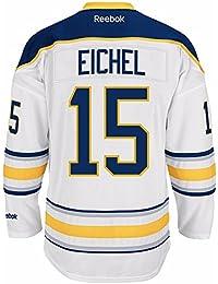 Reebok Jack Eichel Buffalo Sabres Premier Replica Away NHL Jersey White