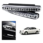 Improve your car styling with Motor Duniya 8 LED DRL Daytime Running Lights. These DRL LED Lights will not only look great but also provide greater functionality with its best in class quality and performance.These lights also delivers unmatched reli...